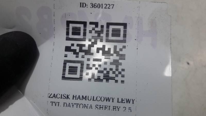ZACISK HAMULCOWY LEWY TYL  DAYTONA SHELBY  2,5