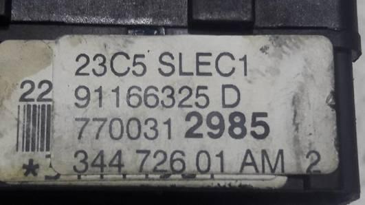 91166325D PRZELACZNIK WYCIERACZEK OPEL VIVARO