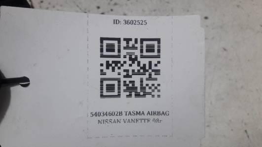 TASMA AIRBAG MAZDA 3 BK