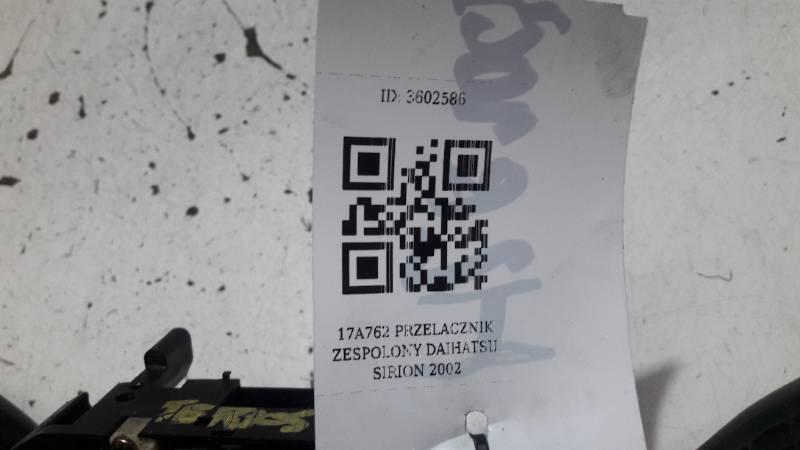 17A762 PRZELACZNIK ZESPOLONY DAIHATSU SIRION 2002