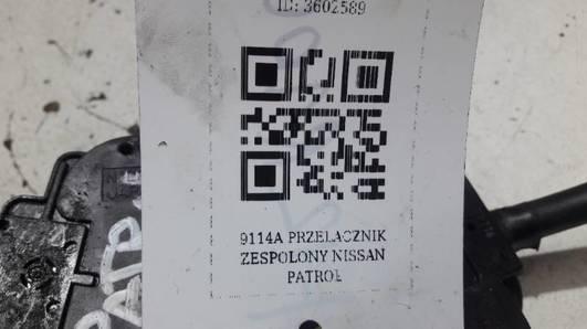 9114A PRZELACZNIK ZESPOLONY NISSAN PATROL