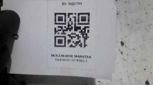MOCOWANIE MANETEK  DAEWOO NUBIRA I