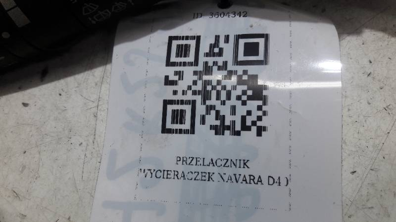 7Y23SD PRZELACZNIK WYCIERACZEK NISSAN X-TRAIL T31