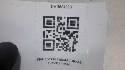 TASMA AIRBAG HONDA CIVIC VII