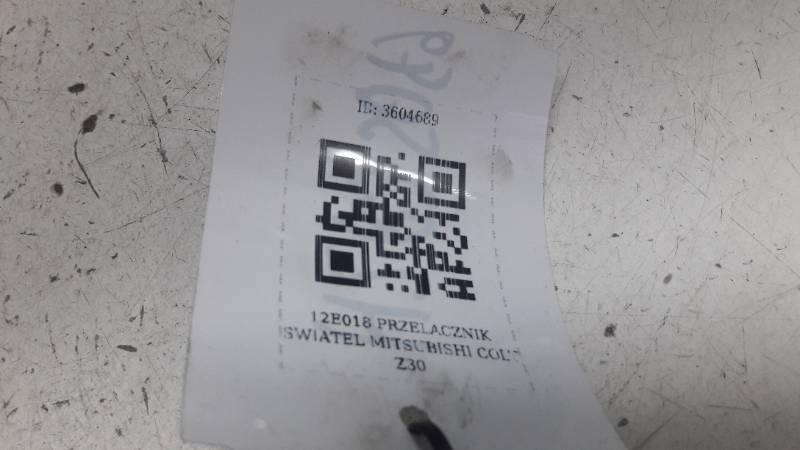 127E018 PRZELACZNIK SWIATEL MITSUBISHI COLT Z30
