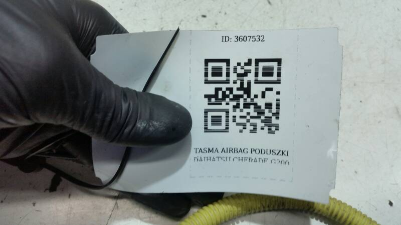 TASMA AIRBAG PODUSZKI DAIHATSU CHARADE G200