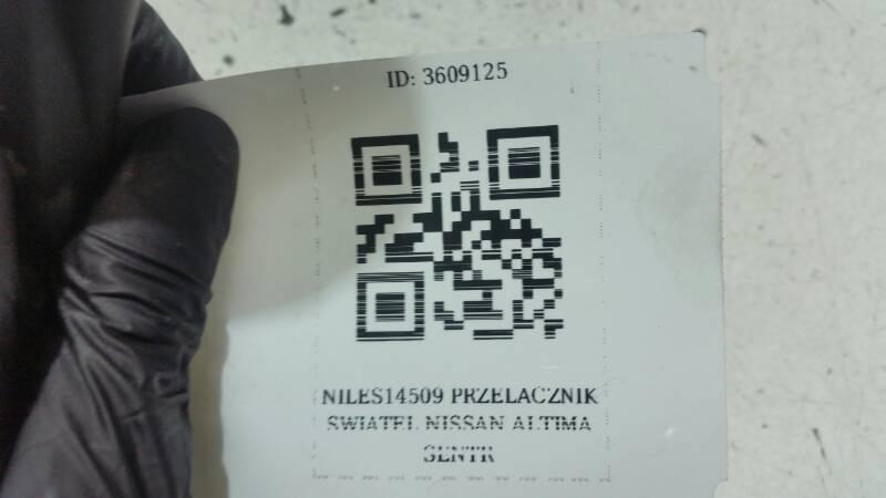 NILES14509 PRZELACZNIK SWIATEL NISSAN ALTIMA SENTR
