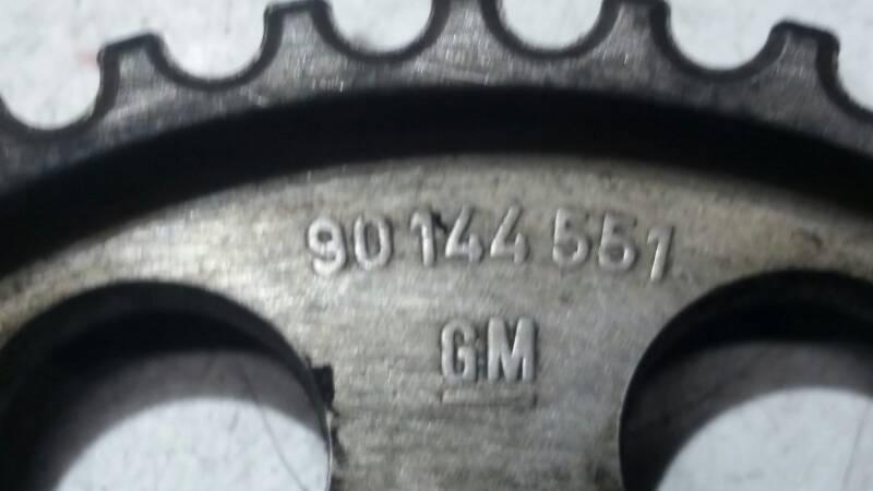 90144551 KOLO ZEBATE OPEL KADETT E 87r 1.8