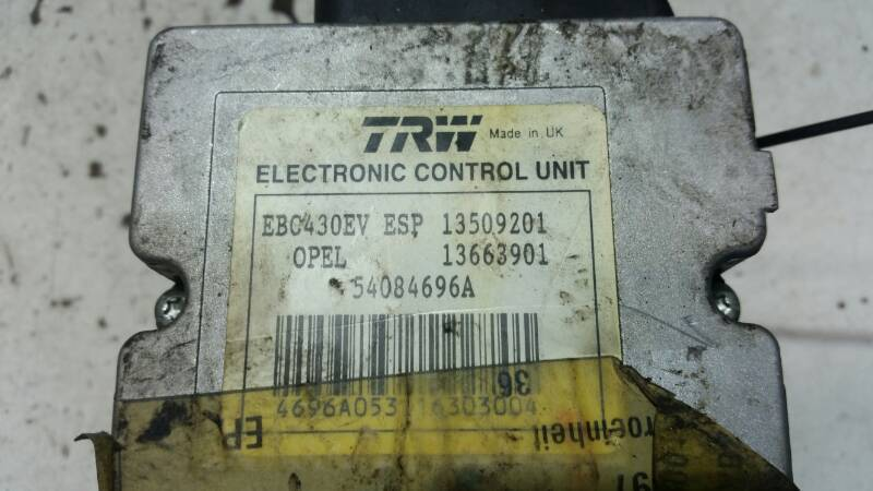 54084696A  POMPA ABS OPEL SIGNUM VECTRA C