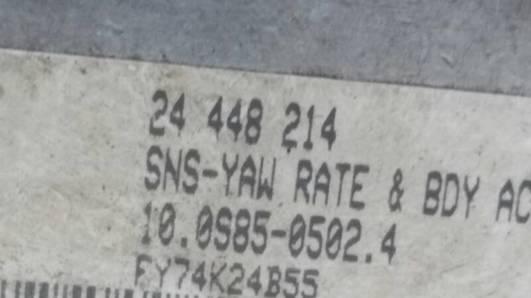 24448214 OPEL ASTRA H 04r CZUJNIK MODUL ESP