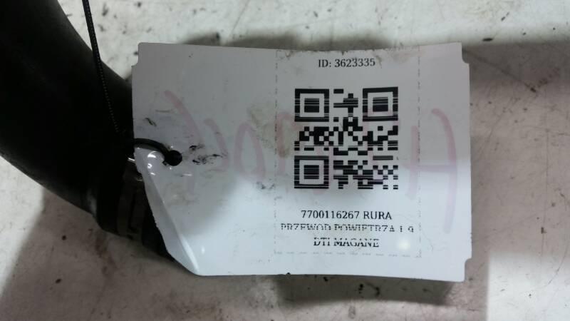 7700116267 RURA PRZEWOD POWIETRZA 1.9 DTI MAGANE