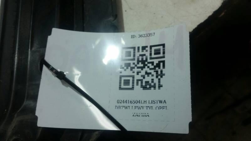 024416504 LH LISTWA DRZWI LEWY TYL OPEL ZAFIRA