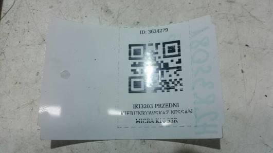 IKI3203 PRZEDNI KIERUNKOWSKAZ NISSAN MICRA K10 93R