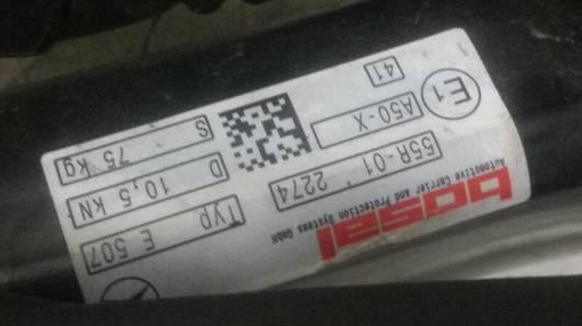 10021848 HAK HOLOWNICZYMERCEDES AMG W205
