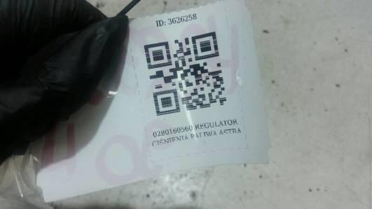 0280160560 REGULATOR CIŚNIENIA PALIWA ASTRA