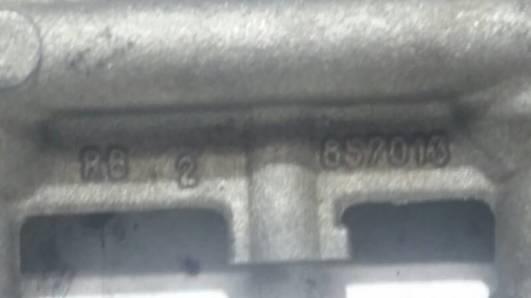 857013 LISTWA WTRYSKOWA RENAULT LAGUNA 2.0 I 96R