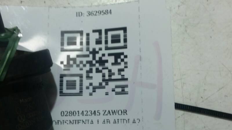0280142345 ZAWOR PODISNIENIA 1.4B AUDI A2
