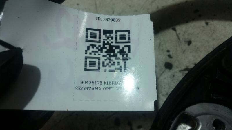 90436178 KIEROWNICA SKORZANA OPEL VECTRA B