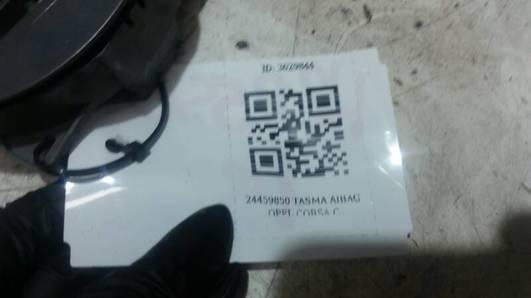 24459850 TASMA AIBAG OPEL CORSA C