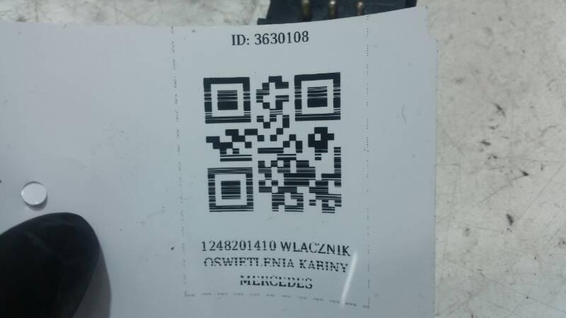 1248201410 WLACZNIK OSWIETLENIA KABINY MERCEDES