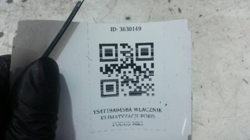 YS4T19A945BA WLACZNIK KLIMATYZACJI FORD FOCUS MK1