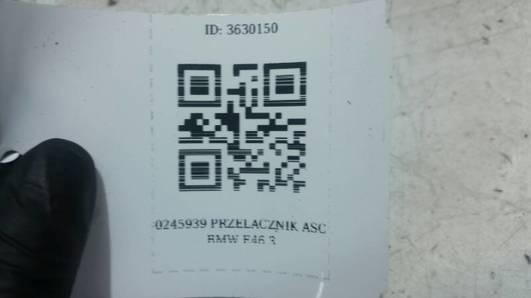 0245939 PRZELACZNIK ASC BMW E46