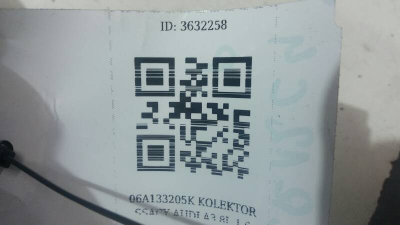 06A133185AK KOLEKTOR SSACY AUDI A3 8L 1.6