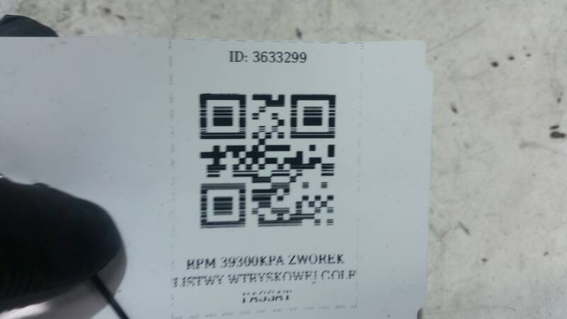 RPM 39300KPA ZAWOR LISTWY WTRYSKOWEJ GOLF PASSAT