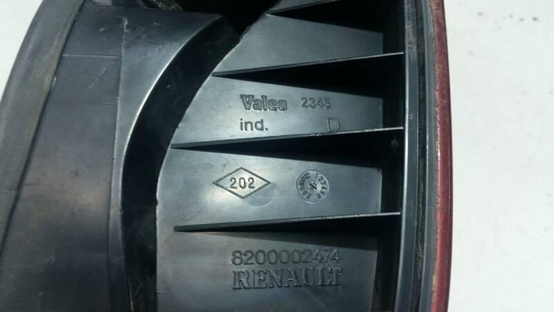 8200002474 LAMPA PRAWA RENAULT LAGUNA II