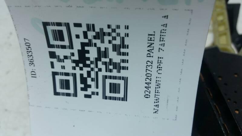 024420732 PANEL NAWIEWU OPEL ZAFIRA A