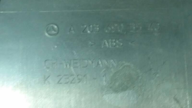 A2036903540 OSLONA MASKOWNICA SŁUPEK LEWY SRODEK M