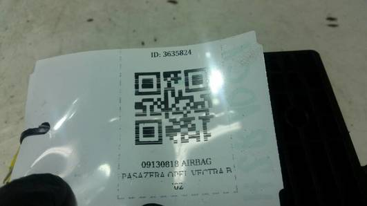 09130818 AIRBAG PASAZERA OPEL VECTRA B '02