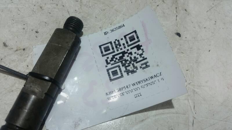 KBEL58P147 WTRYSKIWACZ WTRYSK SCENIC 1.9DTI 200BAR