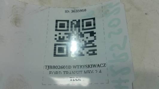 TJBB02601D WTRYSKIWACZ FORD TRANSIT  MK6 2.4 TDDI