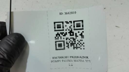 0567006381 PRZEKAZNIK POMPY PALIWA MAZDA 323 1.6