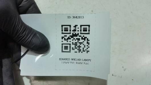 8364925 WKLAD LAMPY LEWY TYL BMW E46