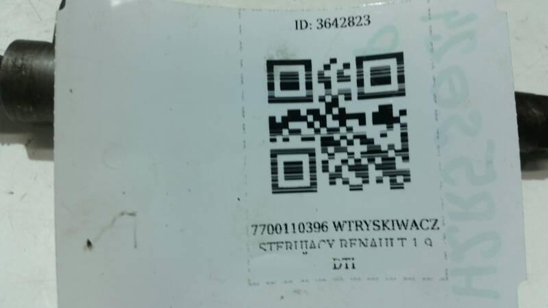 7700110396  WTRYSKIWACZ STERUJACY RENAULT 1.9 DTI