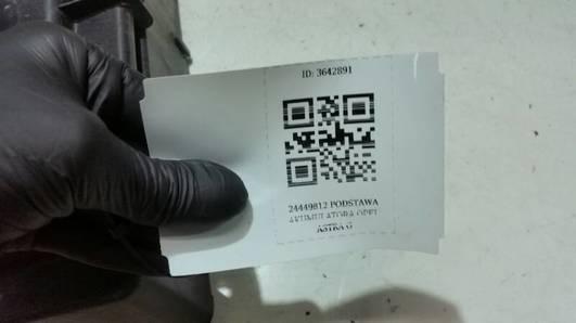 24449812 PODSTAWA AKUMULATORA OPEL ASTRA G