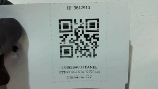 28395BA000 PANEL STEROWANIA NISSAN PRIMERA P12