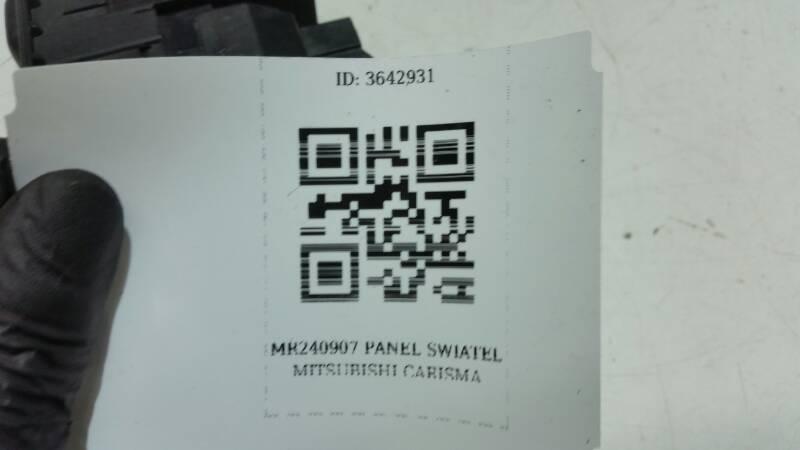 MR240907  PANEL SWIATEL MITSUBISHI CARISMA