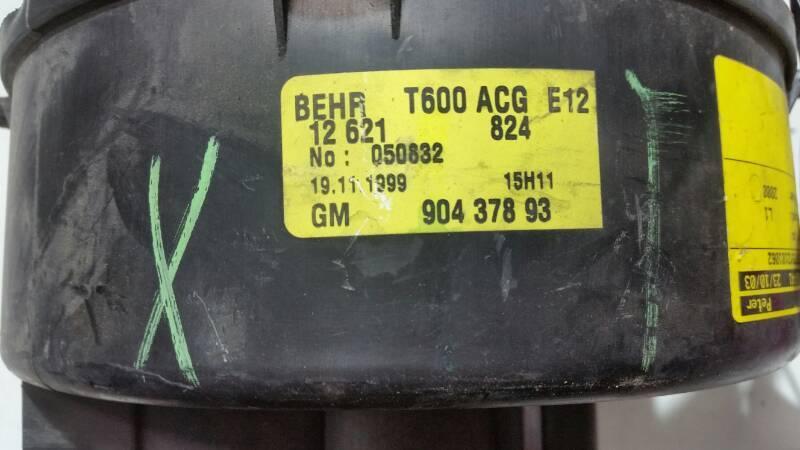 90437893 DMUCHAWA WENTYLATOR OPEL ZAFIRA A