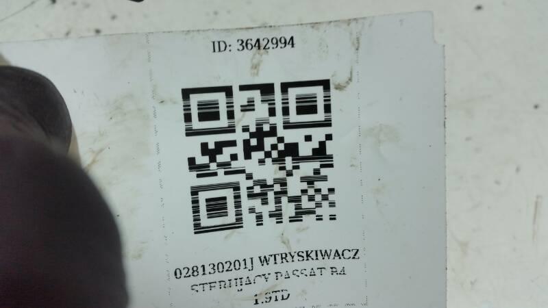 028130201J WTRYSKIWACZ PASSAT B4 1.9TD 190 BAR