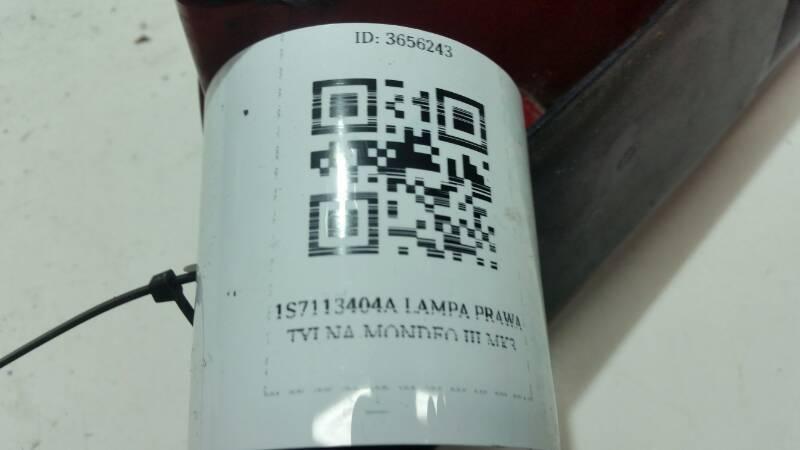 1S7113404A LAMPA PRAWA TYLNA MONDEO III MK3
