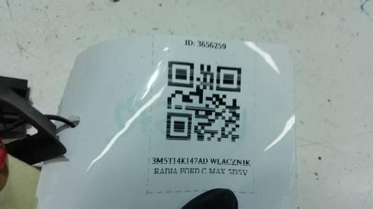 3M5T14K147AD WLACZNIK RADIA FORD C MAX  5D5V
