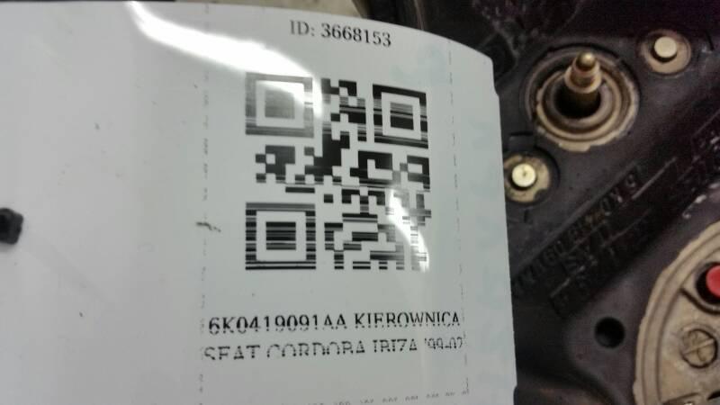 6K0419091AA KIEROWNICA SEAT CORDOBA IBIZA '99-02