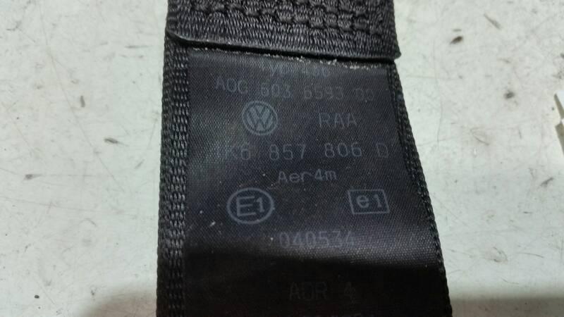 1K6857806D PAS BEZPIECZENSTWA PRAWY TYL VW GOLF V