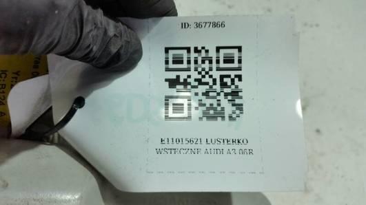E11015621 LUSTERKO WSTECZNE AUDI A3 06R