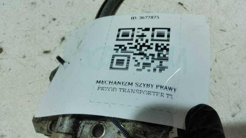 MECHANIZM SZYBY  PRAWY TRANSPORTER T3