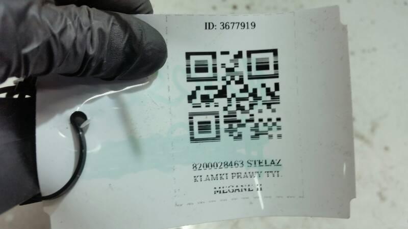 8200028463 STELAZ KLAMKI PRAWY TYL  MEGANE II