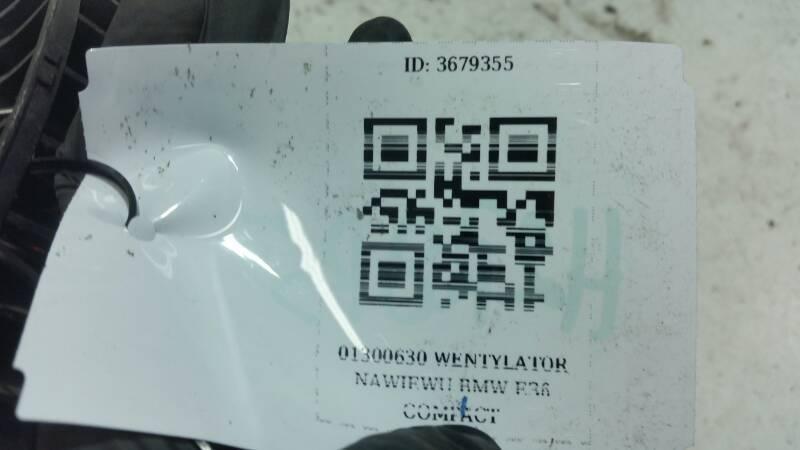 01300630 Wentylator Nawiewu Bmw E36 Compact Chłodnice Klimatyzacji